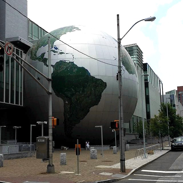 North Carolina Museum of Natural Science Globe