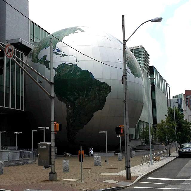 North Carolina Museum of Natural Science Globe