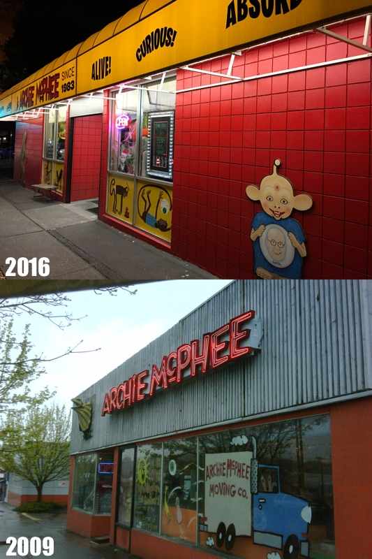 Archie McPhee Storefront