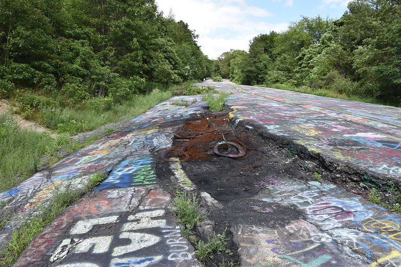 Centralia - Gouge Collapse