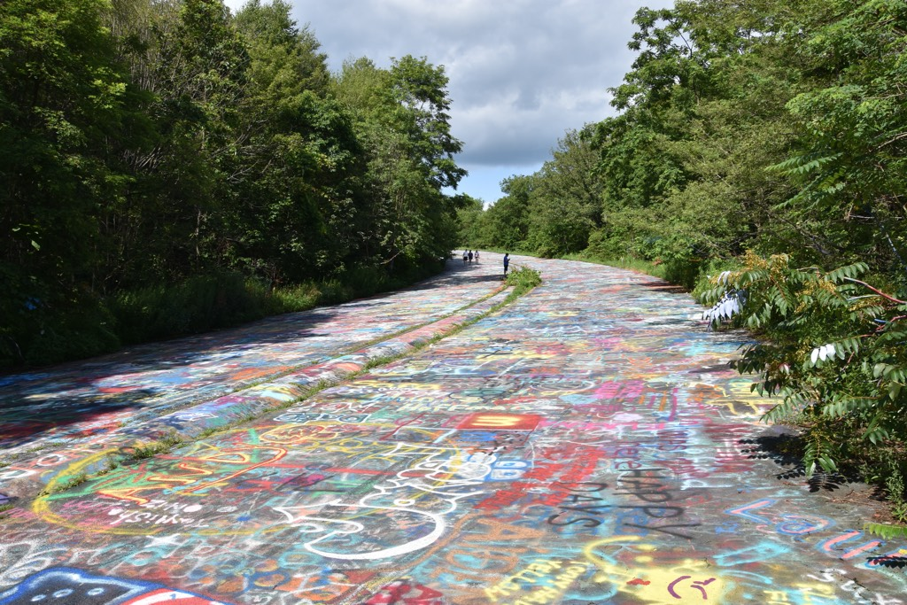 graffiti road