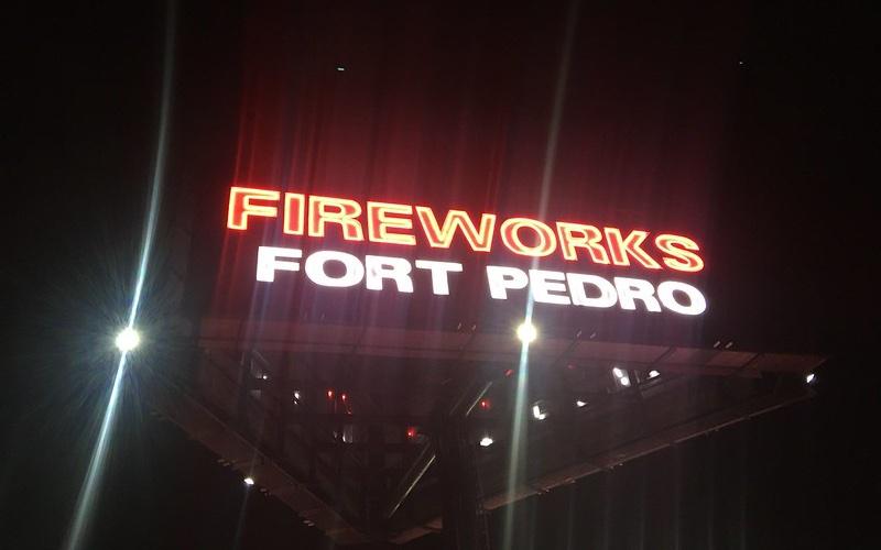 Fort Pedro Fireworks