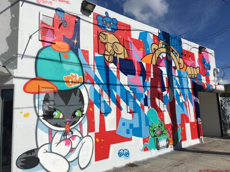 Wynwood Graffiti Mural