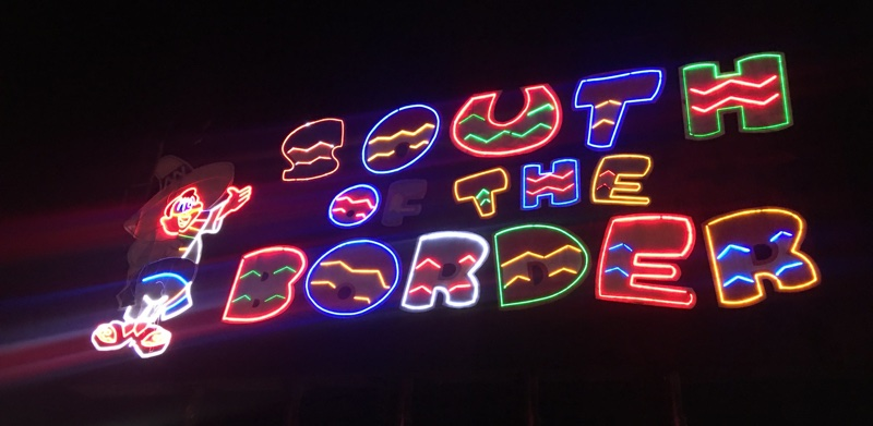South of the Border Neon Sign