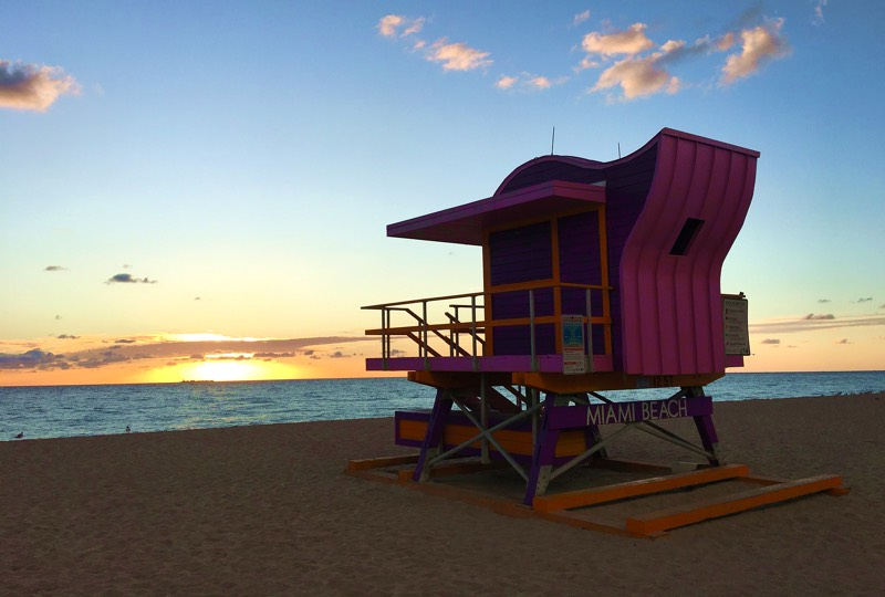 South Beach - Lifeguard Stand
