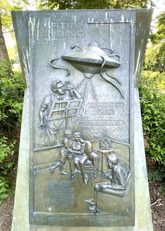 Van Nest Martian Landing Monument