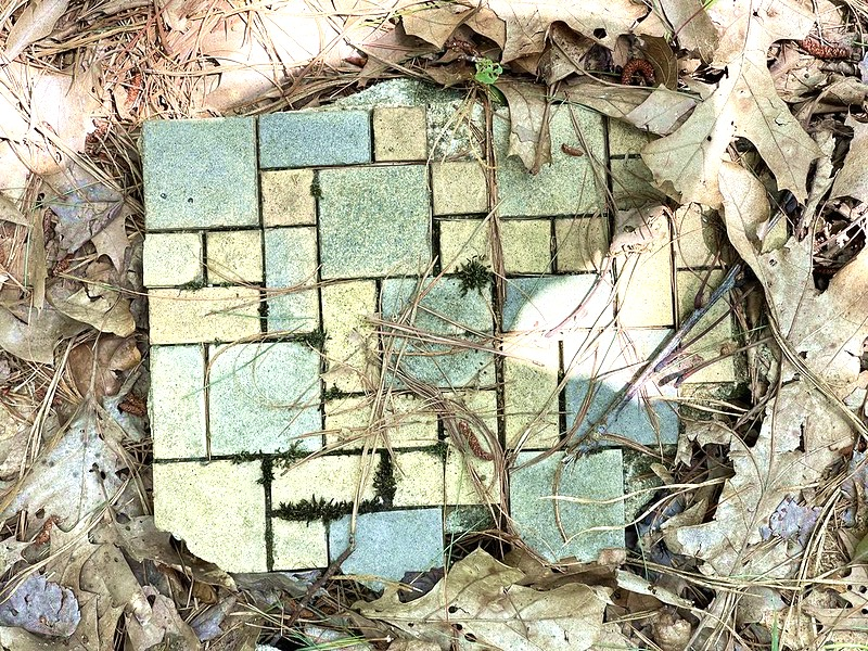 Wildland Firefighter Memorial, Tile Floor